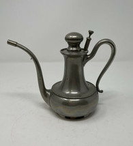 Antique Vtg Oil Kerosene Lamp Filler Can Copper Manning Bowman - $69.30