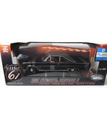 Highway Hwy 61 DCP 1:18 1967 Plymouth Belvedere II black Diecast Car Model - $94.99