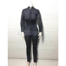1/6 Catsuit Jumpsuit Suit for 12'' ZY Toys Female Phicen Kumik Figure Black - $38.54