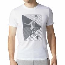 Adidas Originals Harden Show Out Men's Crew Neck T-Shirt White-Grefiv cd... - $29.95