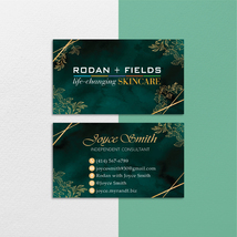 Personalized Rodan and Fields Business Cards, Rodan Fields Consultant RF112 - $9.99