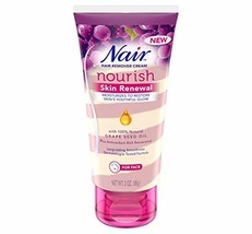 Nair Hair Remover Nourish Skin Renewal Face 3 Ounce 88ml 2 Pack