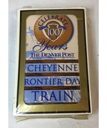 Cheyenne Frontier Days Train Promotional Poker Playing Cards Wyoming NEW... - $15.83