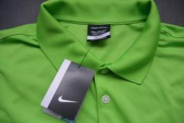 Nike Golf Mens Polo Shirt XXLT Tall 2XL T Dri Fit Stay Cool Mean Green New - $49.95