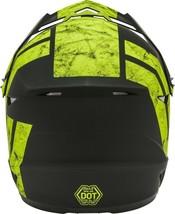New Adult XL Gmax GM46 Dominant Matte Black/Hi-Viz Offroad Helmet DOT image 2