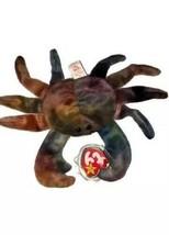 Claude the Crab Ty Original Beanie Baby **RARE** ERROR on tag - $5.87