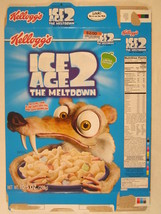 MT KELLOGS Cereal Box 2006 ICE AGE 2 The Meltdown 10.5oz [G7E14p] - $24.00
