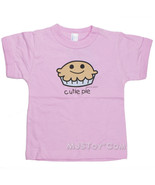 "NWT Pipsqueaks David Goliath Pink ""Cutie Pie"" Toddler 100% Cotton Girl T... - $9.99"