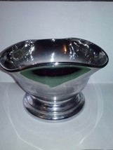 Silver Glass Candy or Trinket Dish with base - $10.99