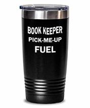 Funny Book-Keeper Tumbler Pick-Me-Up Fuel Insulated Double Wall Travel Thermos A - $29.60