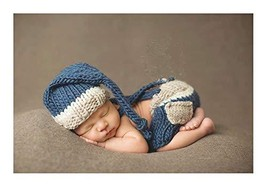 Lppgrace Newborn Baby Photography Props Boy Crochet Costume Outfits Hat ... - $16.91