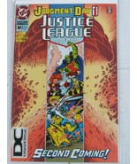 """JUSTICE LEAGUE AMERICA #89 """"JUDGMENT DAY 1"""" SECOND COMING! 1994 DC Unive... - $5.99"""