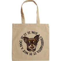 CHIHUAHUA THE ONLY DOG - NEW AMAZING COTTON HAND BAG/TOTE BAG - $17.19