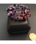 Multi Colored Glass Beaded Children's Bracelet - $8.00
