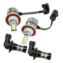 9145 LED Headlight Hi/Lo + Fog Light 4 Bulbs Combo kit For Ford F-150 F-250 F350 - $25.73