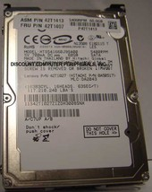 "Hitachi HTS541660J9SA00 60GB 2.5"" 9.5MM SATA Hard Drive"