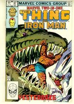 MARVEL TWO-IN-ONE #97 NM! ~ The THING - $2.50