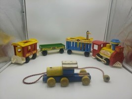 Vintage Fisher Price Little People Circus Train-991-GREAT Shape! - $64.35