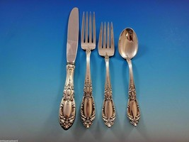 King Richard by Towle Sterling Silver Regular Size Place Setting(s) 4pc - $239.00