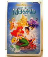 THE LITTLE MERMAID (VHS, 1990) WALT DISNEY BLACK DIAMOND CLASSIC BANNED ... - $19.75