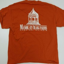 Manor At Craig Farms Chester Illinois T-Shirt Size L - $13.85