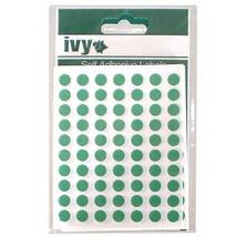 490 8mm grün selbstklebend rund Punkte Etiketten - 232700 - - $6.53