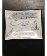 Detroit Lakes Minnesota ashtray Nat'l Assn postmasters us state conventi... - $24.99
