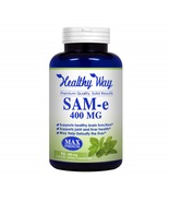 Healthy Way Pure SAM-e 400mg Support Mood, Joint Health, and Brain Function - $96.99