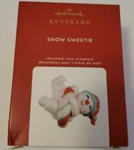 Snow Sweetie Limited Edition 2020 Hallmark Keepsake Christmas Tree Ornam... - $4.95