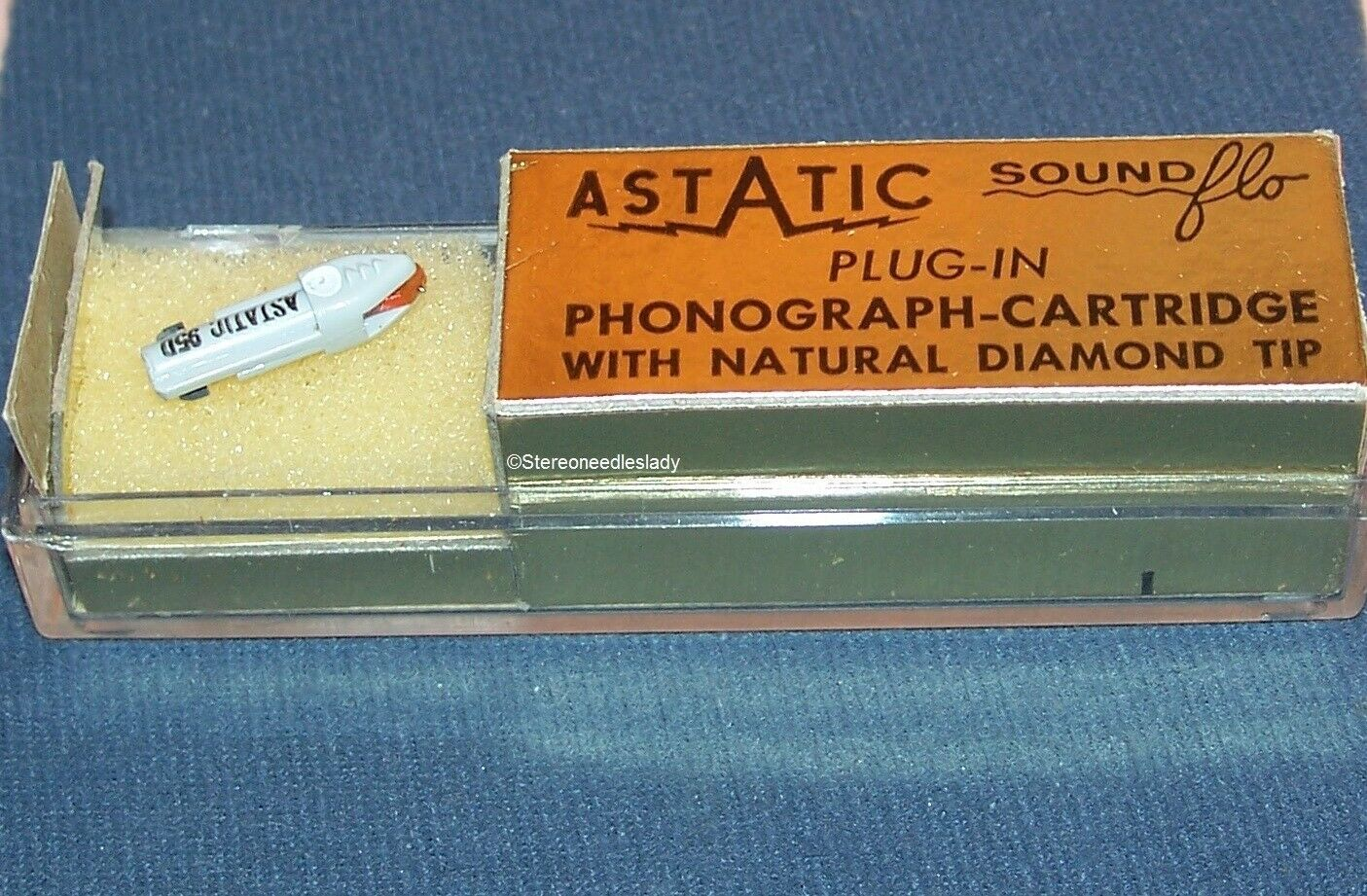 CARTRIDGE Astatic 95D for EV Z56DS 116D, Zenith 142-88 993-DS13 Duotone 732D/S