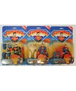 3 Animated Show Quick Change Superman Clark Kent Deep Dive Capture Net NIB - $39.60