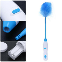 Spin Duster Electric Feather Duster Degree Rotary Bending Cleaning Brush DA - $72.80