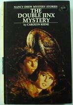 Nancy Drew Double Jinx Mystery 1st Edition original price sticker Caroly... - $20.00