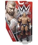 Triple H Basic Series 73 WWE Mattel Brand New Figure Toy - Mint Packaging - $11.29
