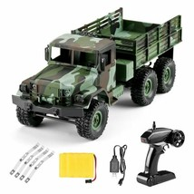 1/16 2.4G 4WD RC Military Truck Army Remote Control Rock Crawler w/ LED ... - $3.155,15 MXN