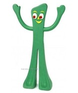 Classic TV Nostalgic Green GUMBY RUBBER DOG TOY - $13.57