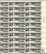 A Decade of Achievement in Space Complete Sheet 50 x 8c Stamps Scott 1434 - $9.99