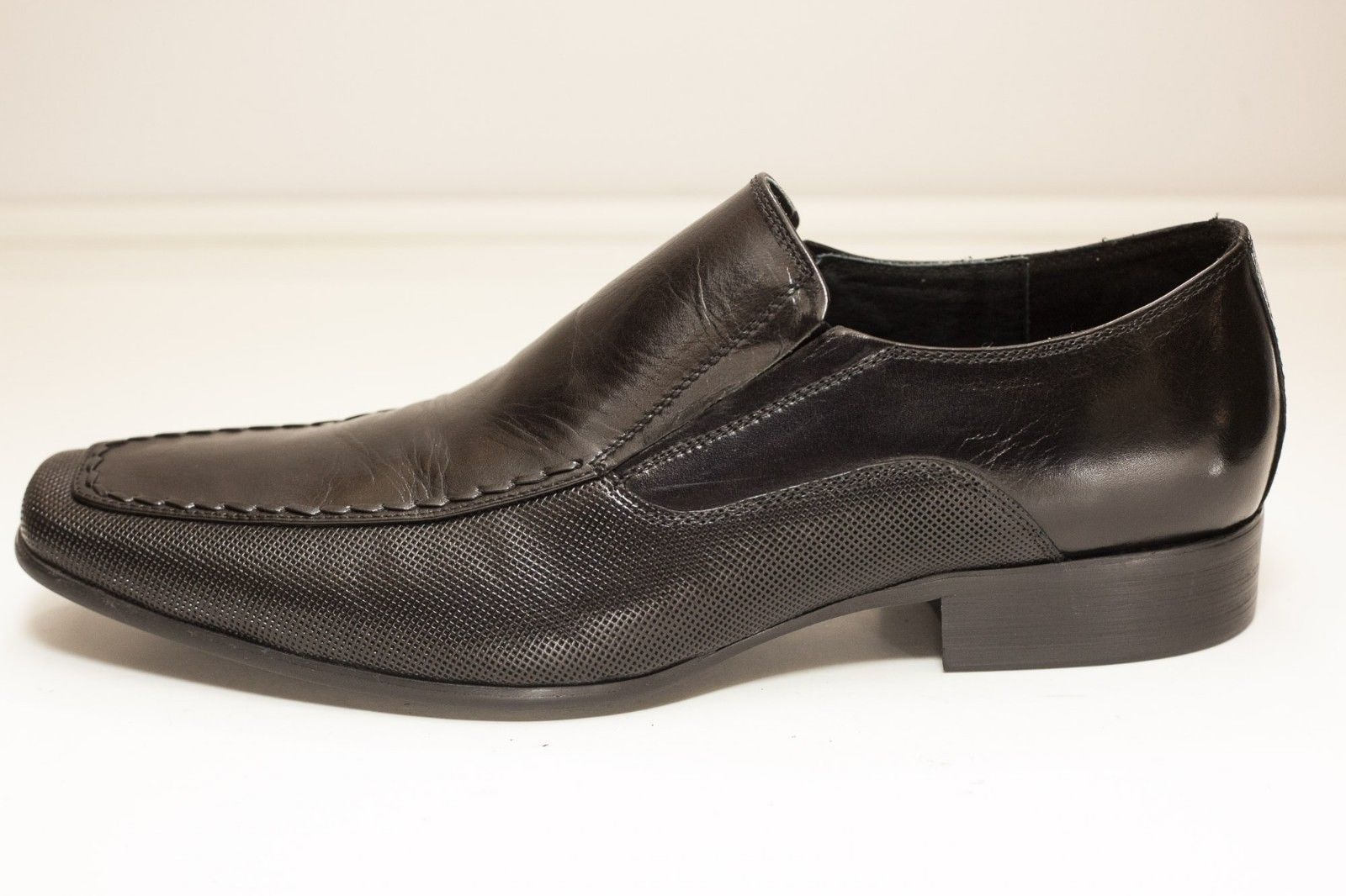 84e2e5284bb Steve Madden Size 11 Black Slip On Loafer and 50 similar items. S l1600