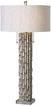 Uttermost 27177-1 Bamboo Table Lamp, Silver - $217.80