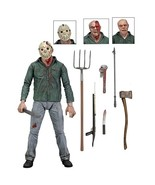 NECA Friday the 13th Part III 3D Jason Voorhees Ultimate 7 Action Figure... - $43.10