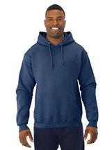 Jerzees 8 oz. NuBlend 50/50 Pullover Hood, VINTAGE HTH NAVY - Large - $16.55