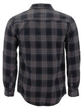 Men's Premium Cotton Button Up Long Sleeve Plaid Comfortable Flannel Shirt image 11