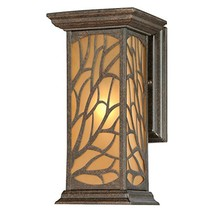 Westinghouse 6315000 Glenwillow One-Light Outdoor Wall Lantern with Ambe... - $60.70