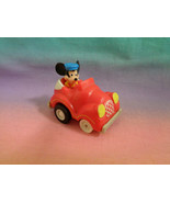 Vintage 1988 McDonald's Disney Miniature Mickey Mouse Pullback and Go Ca... - $1.97