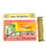 1971 Big Wheels Lindberg Tractor - Trailer in Box  - $21.95