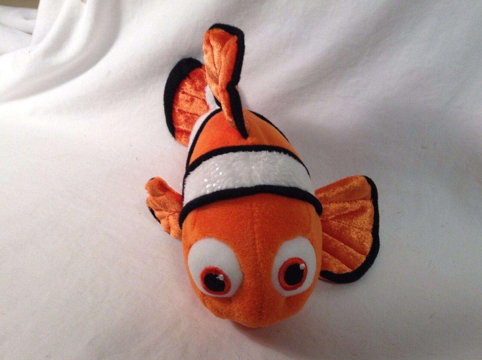 "DISNEY STORE FINDING NEMO CLOWN FISH 9"" LGTH CUTE"