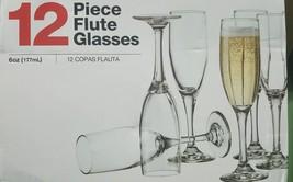 The Cellar Basics Champagne Flute Glasses 12pc. - $20.78