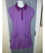 Faded Glory 2 Tone Purple Dress Size10/12 Girls EUC - $14.08