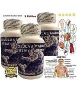 3 Celulas Madres steam enhancer 100% regenerador celular maravilloso mad... - $47.27