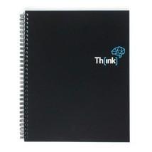 Creoly Th[ink] - Carnet à spirale avec grille de pointillés (21 x 26...  - $29.80
